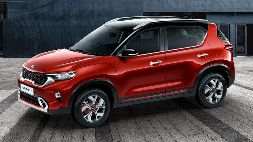 Kia Sonet- Review ,Price In India, Mileage,Features, specification & more